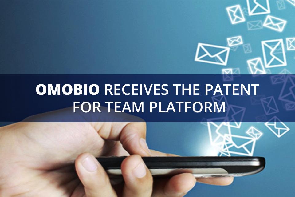 Omobio receives the Patent for Team Platform