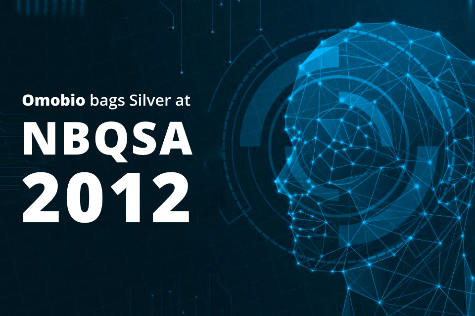Omobio Wins Silver at NBQSA - 2012