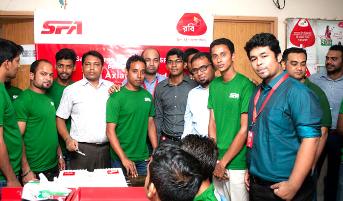 Successful Deployment of ROBI Sales Force Automation Solution