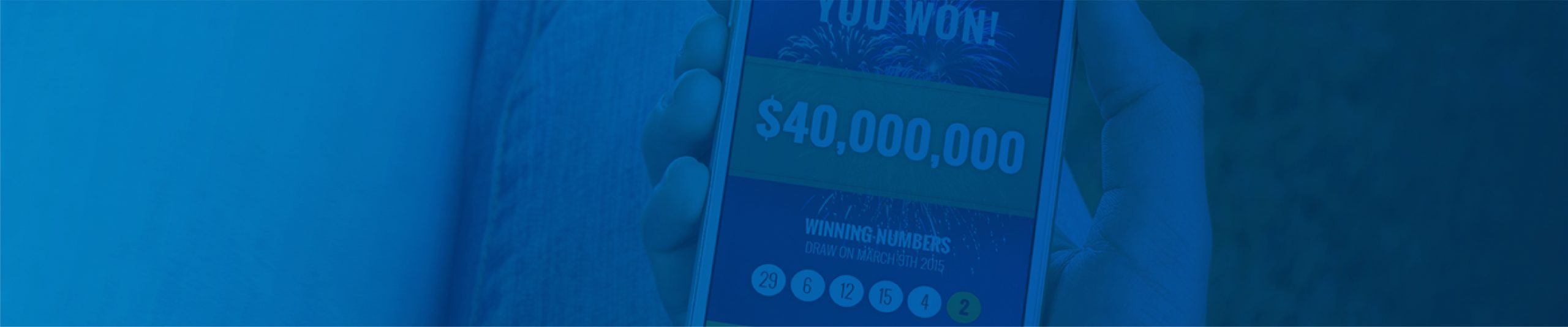 Mobile Lottery System header image