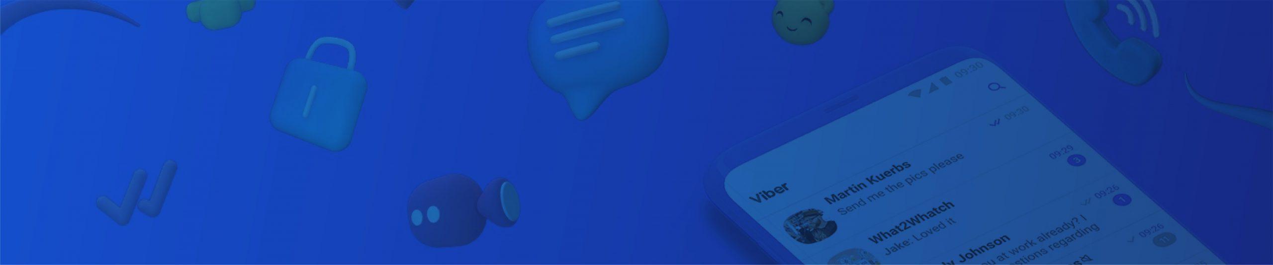 Viber Campaign Manager header image