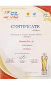 APICTA Award 2019 Certificate of Merit